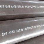 Ống / Ống nhiệt độ thấp ASTM A333